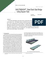 Development of Kakutabashi, Steel Deck Slab Bridge.pdf