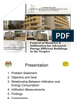 Day1 - Workshop B - JKR - Control of Moisture & Infiltration for Advanced Energy Efficient Buildings