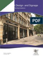 Shopfront and Signage SPG (Draft for Consultation) November 2018