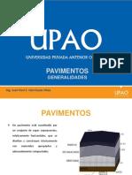 PAVIMENTOS - GENERALIDADES