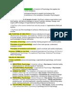 Psyc3600 Summaries w 1-3