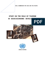 Role of Tourism in Socioeconomic Development
