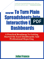 Spreadsheets Into Dashboard s