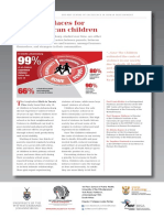 Few Safe Places for South African Children (2018)