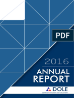 2016 Philippine Department of Labor and Employment Annual Report