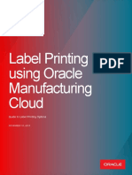 Label Printing Manufacturing Cloud Whitepaper