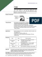 Technical Sheet Soken Tape a-7720D (SCA-EnG-SI)
