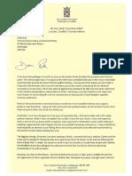 Ruth Davidson resignation letter