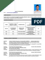 Faizal Cv Updated