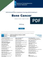 22. NCCN Bone Cancer