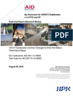 110. Field Visit Report-132 KV TL Khar-August 05, 2019.