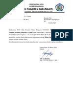 Surat Pemberitahuan PLN