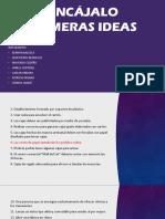 Presentación de Ideas