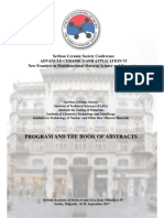 Program and Book of Abstracts ACAVI