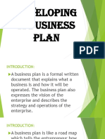 Lesson 2.1 Business Plan