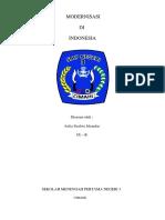 Modernisasi Bidang Politik Di Indonesia