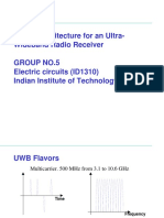 Digital Architecture for an Uwb Radio Reciever2