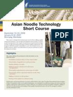 Asian Noodle Short Course July24