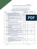 HDB Checklist