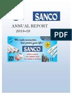 Sanco Annual Report 2019
