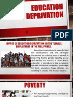 Education Deprivation