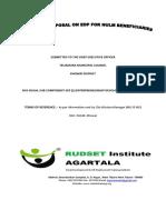 Training Proposal for skill Development training
