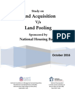 Land Pooling vs Land Acquisition