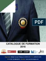 Catalogue de Formation 2016 FINI