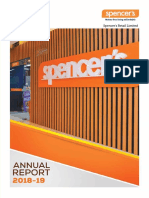 Spencer's Annual Report- 2019