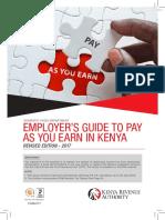 Paye Guide kenya