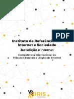 Jurisdicao e Internet Competência Internacional de Tribunais Estatais e Litígios de Internet 1