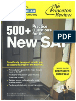 Princeton Review 500+ Practice Questions for the new SAT