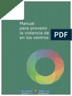 Manual para prevenir la violencia de género en los centros escolares