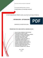 Final Intubacion y Extubacion Seminario de Anestesio