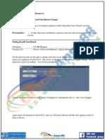 HRMS Basic Benefit Enrollment Change Training