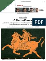 O Fim Da Europa – Senso Incomum