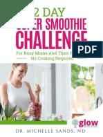 Michelle Sands 2 Day Smoothie Challenge