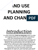 Land Use Planning and Changes