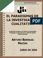 Barraza Macías El Paradigma de La Investigación Cualitativa