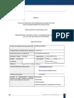 Ficha Registro Expsignificativas 2019