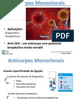 Anticorpos Monoclonais - aplicacoe s -Diagnóstico e Terapêuticas.