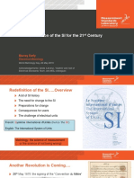 Redefinition of the SI for the 21 st Century
