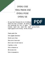 045si- Oyeku Ose