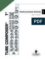 Manual Behringer T
