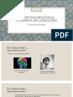 Semana 3 Perspectiva Biologica y Cognitiva de La Emocion