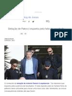 Delação de Palocci Espanta Pela Falta de Resultado