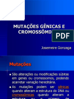 Mutações geneticaaas