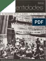 Reflexiones Puntuales Sobre El Conflicto Interno Salvadoreño 1972-1992