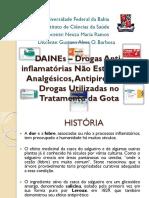 DAINEs – Drogas Anti-inflamatórias Não Esteroidais.pptx