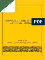 GMO Statutory Liability Regimes
